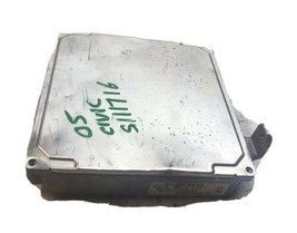 2004 2005 Honda Civic 1.7L AT ECM ECU Engine Control Module | 37820-PLM-A74 - $85.05