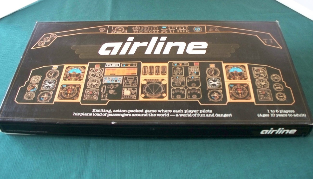 Primary image for Unique Airline Game Mulgara Products 1985 Complete