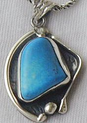 Primary image for Turquoise pendant HMCM
