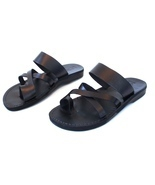 Leather Sandals for Men and Women ROMAN by SANDALIM Biblical Greek Summe... - €25,83 EUR+