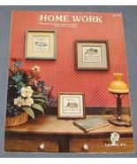 Home Work cross stitch patterns leaflet #4 - Ho... - $3.75