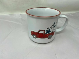 "New  ""RED TRUCK"" Ceramic Mug By Prima Design Cer00254-721 - $17.76"