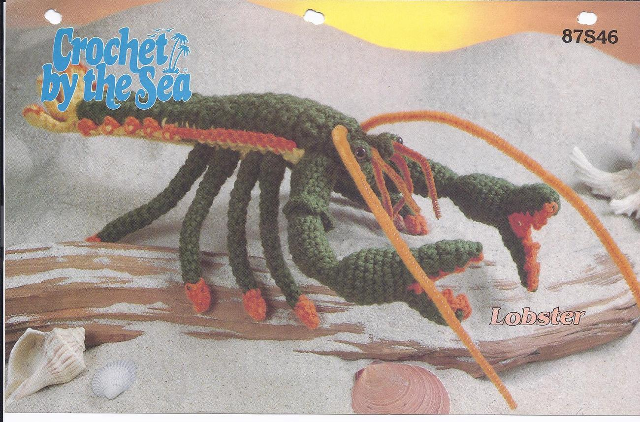 RARE~Crochet by the Sea Lobster Crochet Pattern~Annie's