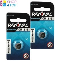 2 Rayovac CR1216 Lithium Batteries 3V Cell Coin Button Exp 2023 Japan New - $3.65