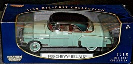 1950 Chevy Bel Air - 2007 1/18th Motormax AA20-NC8150 Vintage Collectible with S