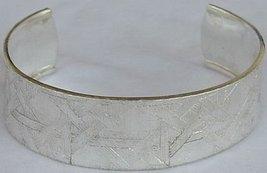 Hermon silver bangle - $55.00