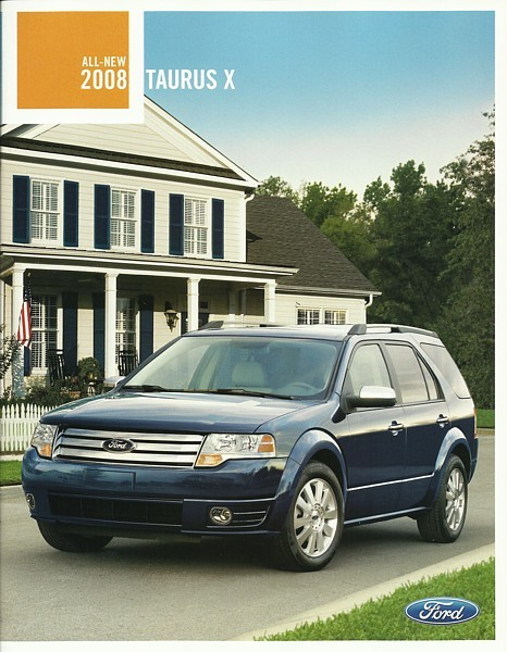 2008 Ford TAURUS X sales brochure catalog 08 US Eddie Bauer