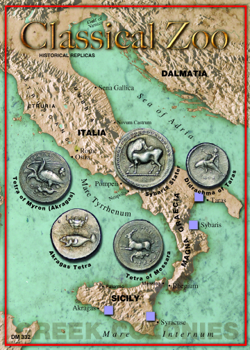(DM 332 Classical Zoo - Greek Colonies