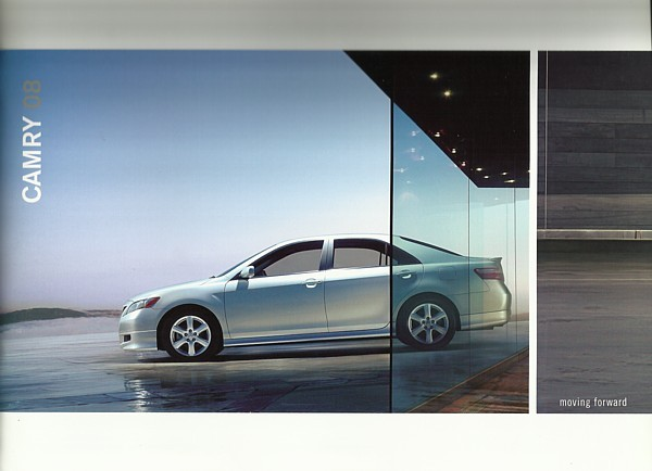2008 Toyota CAMRY sales brochure catalog 08 US SE XLE HYBRID