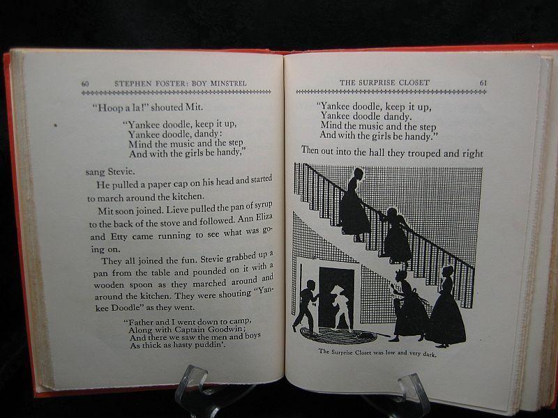 Stephen Foster Boy Minstrel by Helen Boyd Higgins 1944