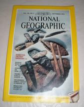 National Geographic Magazine - September 1979 - Vol. 156 - No. 3  * - $9.50