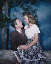 It'S A Wonderful Life James Stewart Donna Reed On His Lap 16x20 Canvas Giclee - $69.99