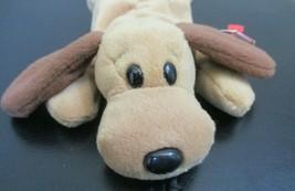 Ty Beanie Baby Bones The Dog 4th Generation PVC Filled NO TUSH TAG - $5.93
