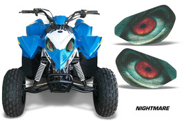 AMR Racing Head Light Eyes Polaris Outlaw 90 ATV Headlight Decals Part N... - $18.95