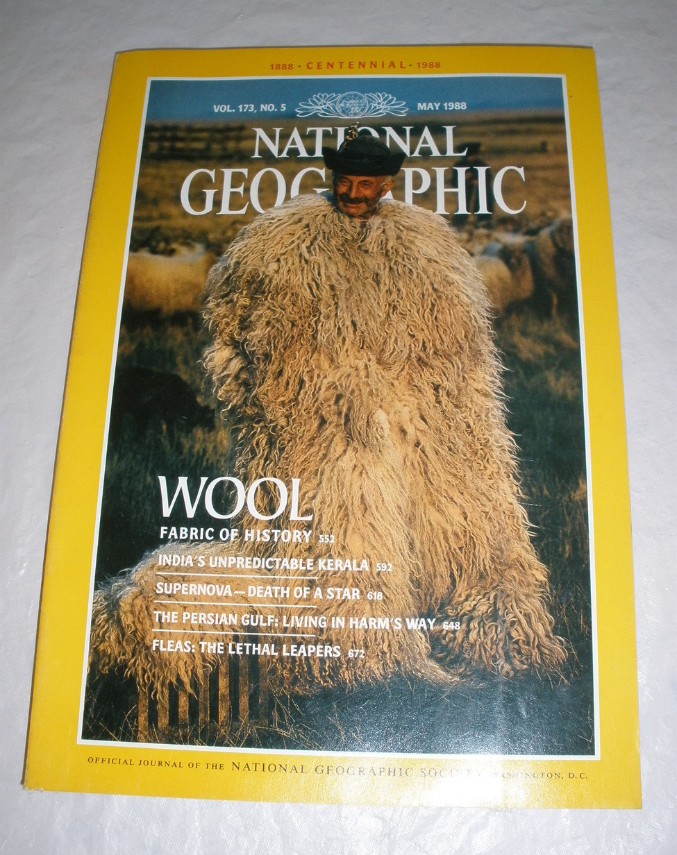 National Geographic Magazine - May 1988 - Vol. 173 - No. 5