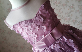 Ball Gown Knee-length Flower Girl Dress -Satin/Tulle Sleeveless Scoop Neck 4-16  image 2