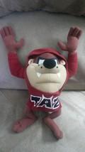 "Tazmanian Devil Taz Hoodie Brand New Licensed Plush Nwt Tags 14"" Looney Tunes - $19.99"