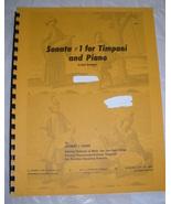 Cirone  - Sonata No. 1 for Timpani & Piano  - $8.50