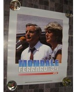 Poster Mondale Ferraro 1984 Presidential Campaign Poster Political - $18.99