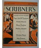 1933 SCRIBNER'S MAGAZINE AUG Max Eastman wraps SCARCE - $10.00