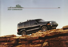 2008 Jeep COMMANDER brochure catalog US 08 Limited Overland - $8.00