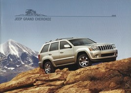 2008 Jeep GRAND CHEROKEE brochure catalog 08 Overland SRT8 - $8.00