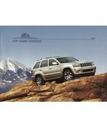 2008 Jeep GRAND CHEROKEE brochure catalog 08 Overland SRT8 - $8.00