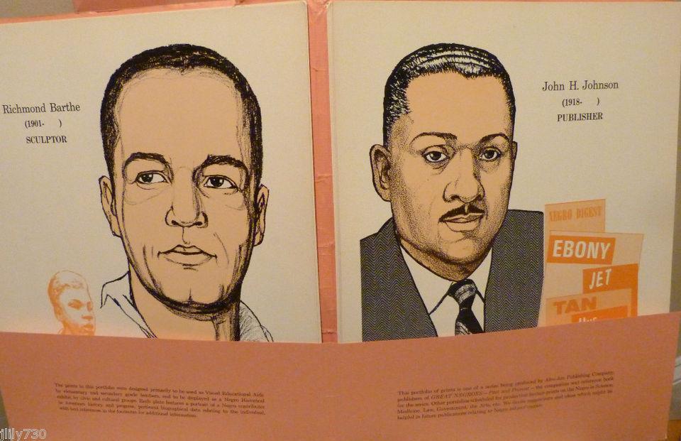 "Black History Month: Portfolio ""Modern Negro Contributors"""