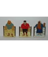 WWF Wrestling Personalities Three (3) Enamel Metal Figure Pins Set #1, 1... - $17.41