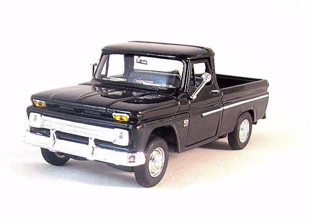 1966 Chevrolet C10 Pick Up Truckblack Welly 1 32 Diecast Car Truck Collectors Model
