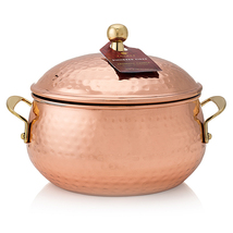 Thymes Simmered Cidar Copper Candle Pot 18oz - $58.99