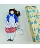 """Betsy"" ""American"" International Porcelain Doll W/ Box NOS Rare 9"" - $29.69"