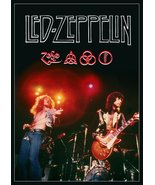 "Led Zeppelin ""The Song Remains The Same"" Movie Stand-Up Display - Concer... - $15.99"