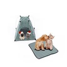 Folding Dog House Portable Bed Tent Waterproof Indoor Outdoor For Pet C... - $32.66