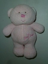 "TY Pluffies~My Baby Bear~Pink Plush Lovey 9"" Beanie Stuffed Tylux Teddy ... - $25.73"