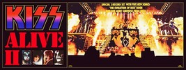 KISS Band 24 x 64 Alive II Full Stage Custom Banner Poster - Rock Music ... - $70.00