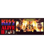 KISS Band 24 x 64 Alive II Full Stage Custom Banner Poster - Rock Music ... - $60.00