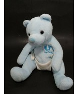 Ty Beanie baby Bear Blue attached diaper plush New Baby It's a boy USED - $2.96