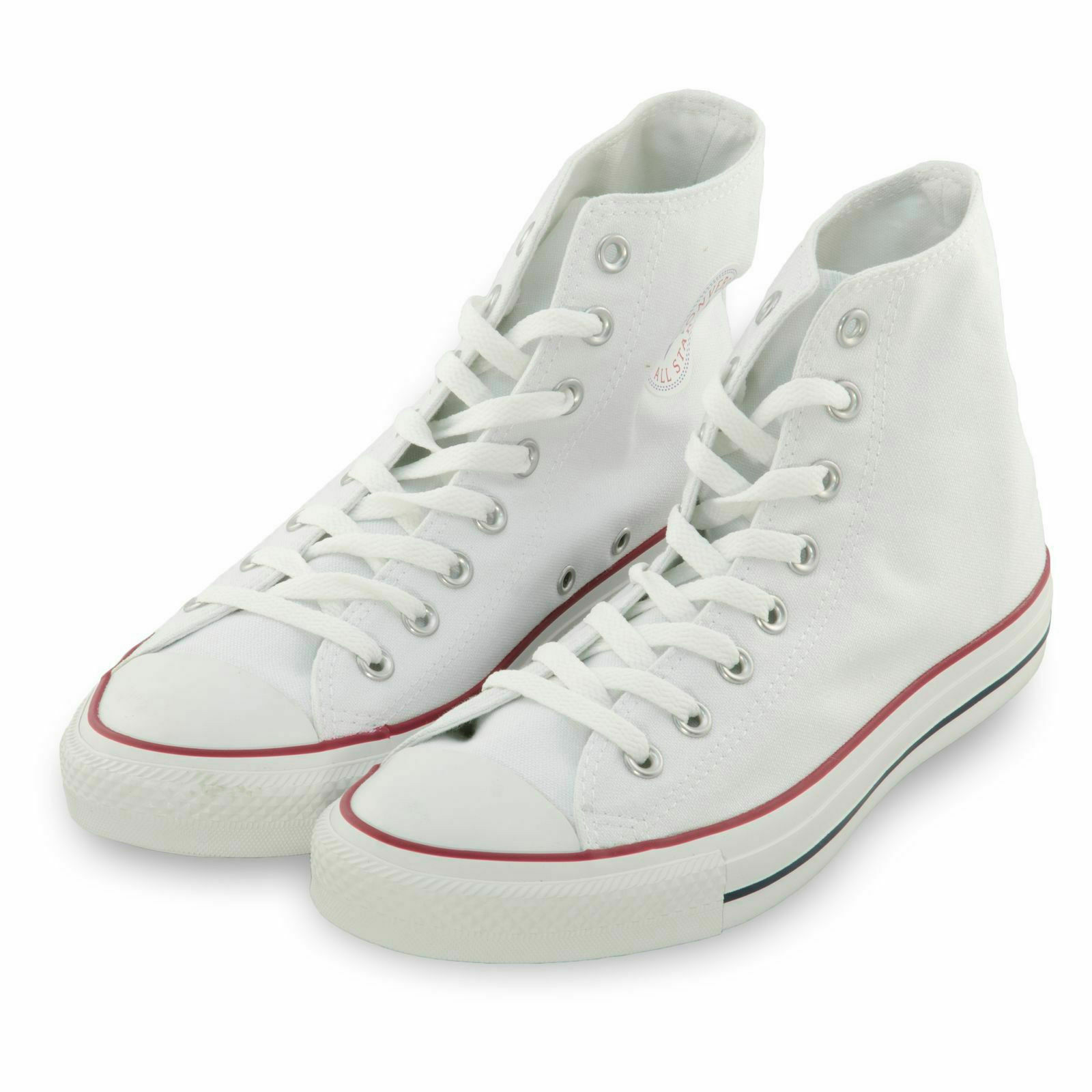 12c7b941c1e Converse Women Shoes Chuck Taylor All Star HiTop Flat Canvas Sneaker Optic  White