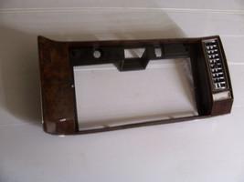 CADILAC BROUGHAM DASH TRIM PANEL GLOVE BOX COMPARTMENT TRIM VENT 1990 1992 - $142.21