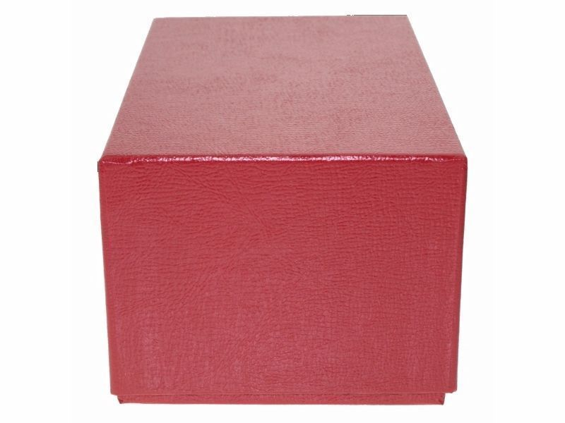 Guardhouse Modern Size Currency Storage Box, Red - 7.5 x 4.25 x 3.25 image 2
