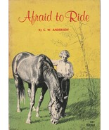 Afraid to Ride by C.W. Anderson 1963 Scholastic Paperback Vintage Horse ... - $12.86