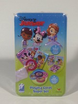 Disney Junior Playing Cards Super Set New Doc McStuffins Sofia Minnie Mouse - $8.99