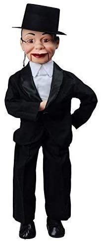 Primary image for Charlie McCarthy Dummy Ventriloquist Doll, Famous Celebrity Radio Personality Cr