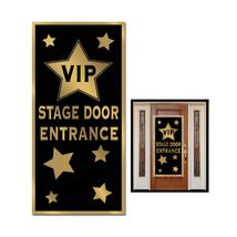 """Beistle Party VIP Stage Door Entrance Door Cover 30"""" x 5' - 12 Pack (1/Pkg) - $50.98"""