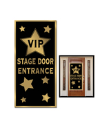 "Beistle Party VIP Stage Door Entrance Door Cover 30"" x 5' - 12 Pack (1/Pkg) - $54.11"