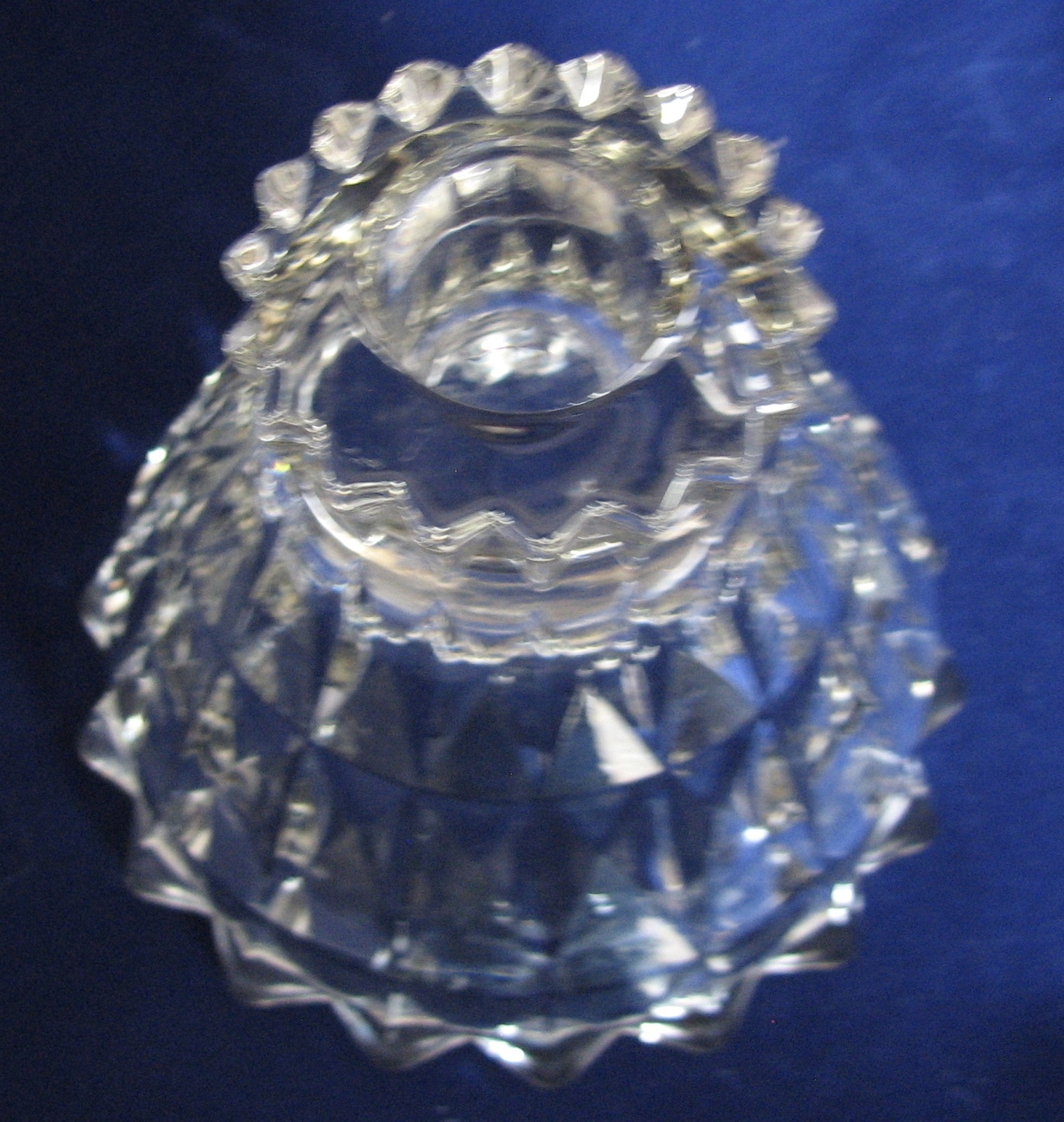 Candle Windsor Jeannette Glass Single Clear