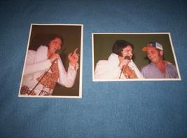 Elvis Presley 6x4 Photos Augusta, ME 5/24/1977 Rosemarie Leech Stamped - $10.00