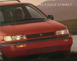 1992 Eagle Summit Sales Brochure Catalog Us 92 Es Dl Lx Awd