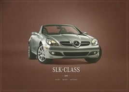 2008 Mercedes-Benz SLK brochure catalog US 280 350 SLK55 AMG - $10.00